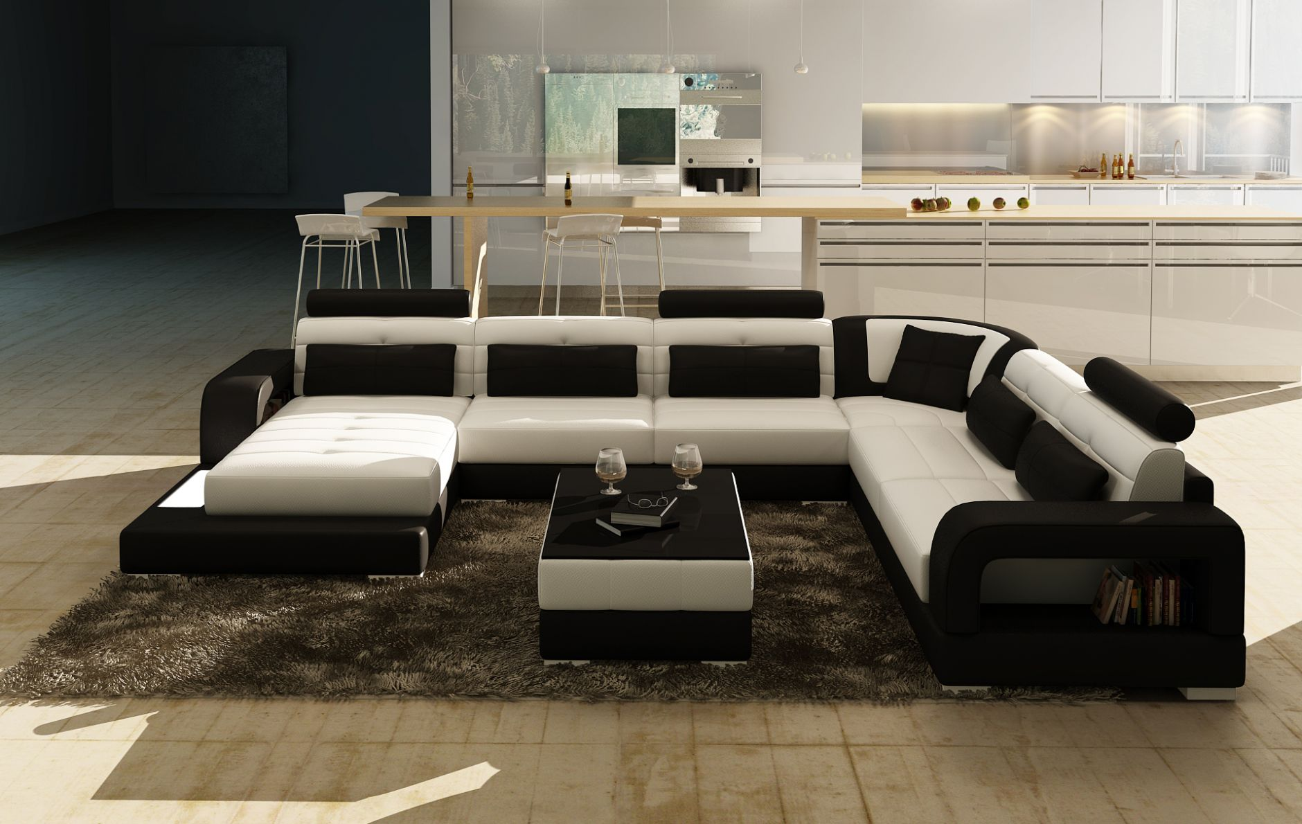 schnittsofa schnittsofa modell 6145die m bel aus italien. Black Bedroom Furniture Sets. Home Design Ideas