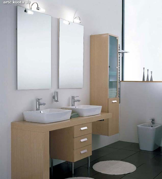 BATHROOM FURNITURE - Arte Bagno Series Arte Model Kuota ...