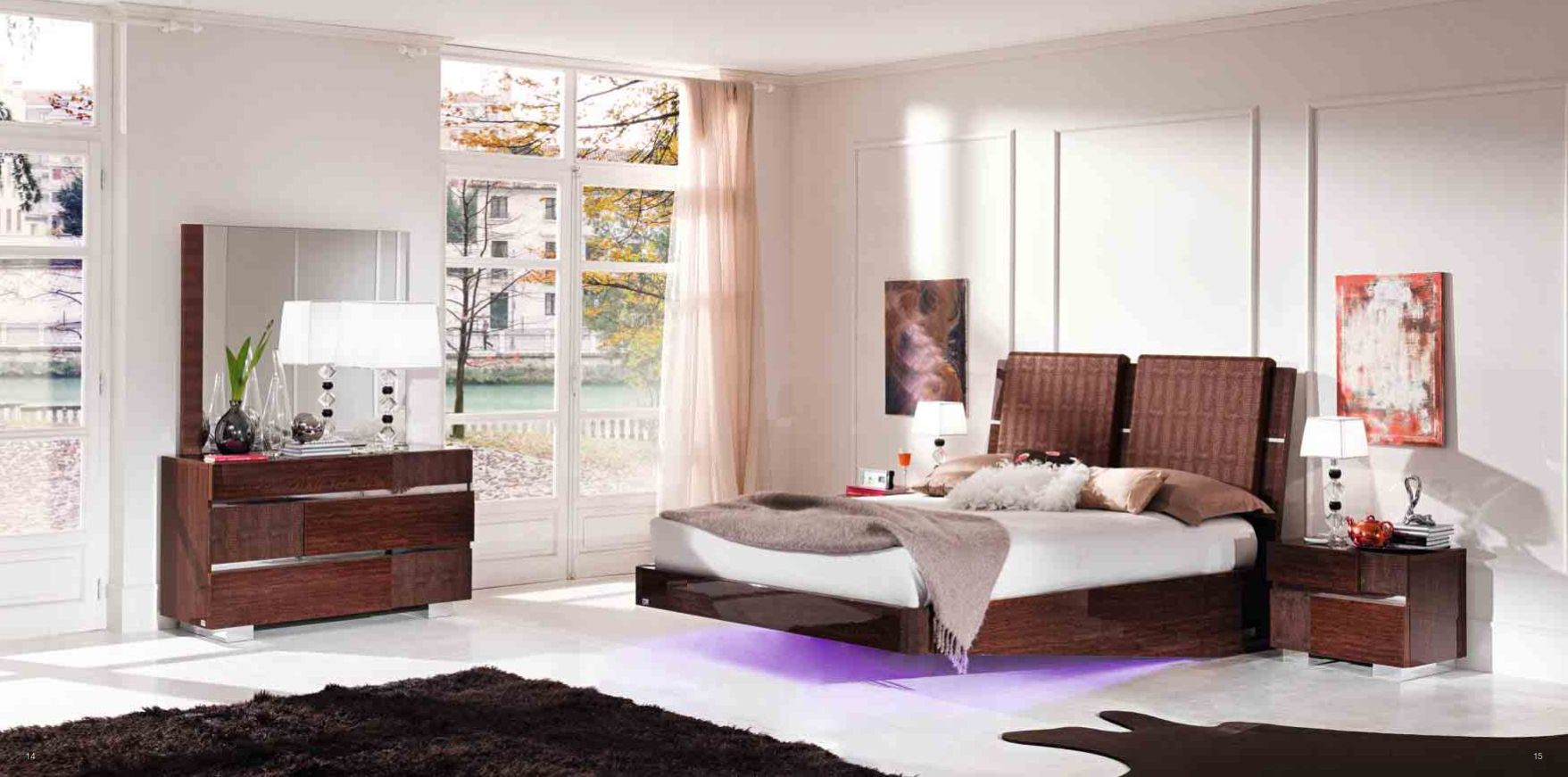 Chambre Caprice Srie Statut With Meuble Italien Chambre A
