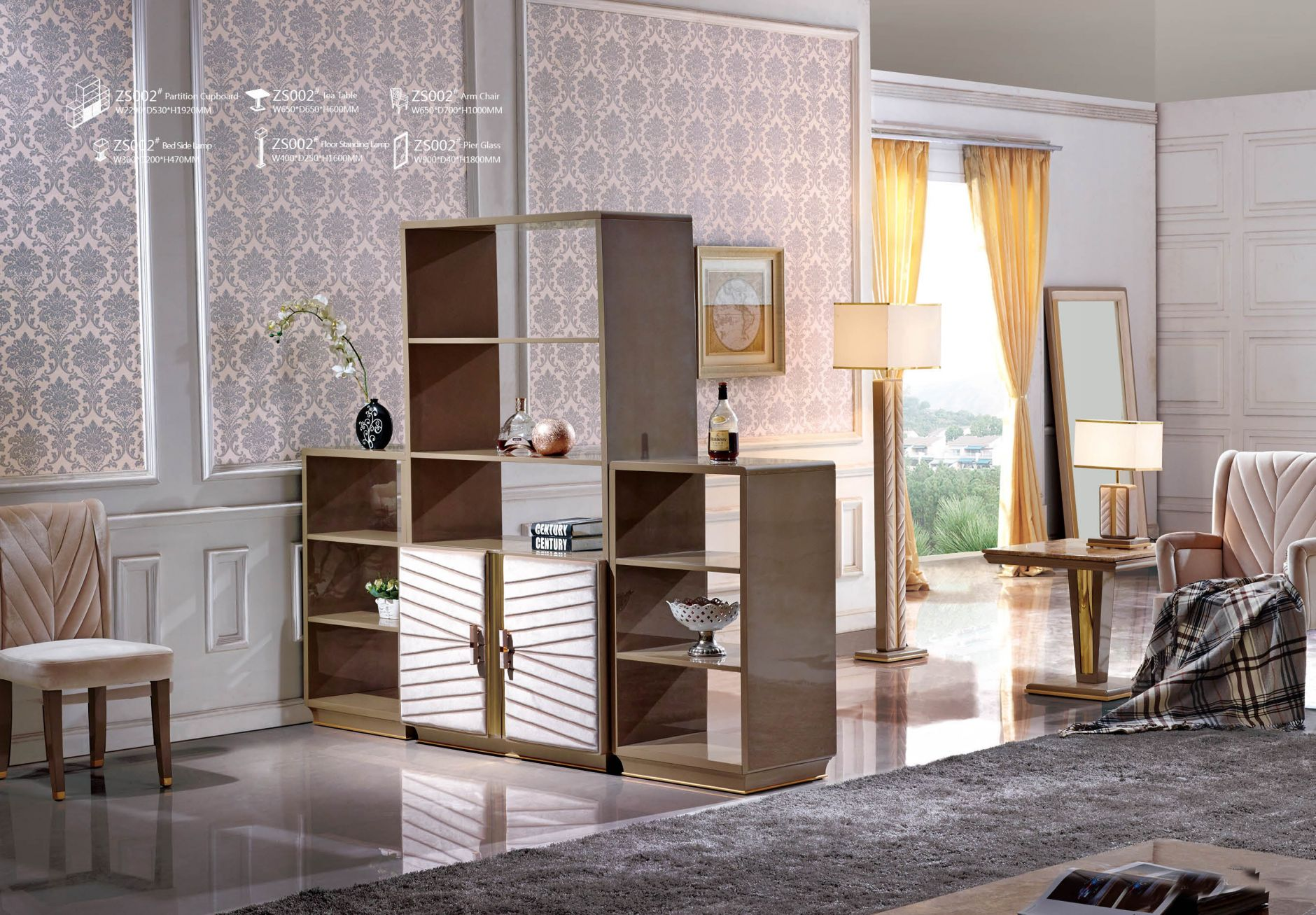 mezzanin designer m bel serie zs002die m bel aus italien. Black Bedroom Furniture Sets. Home Design Ideas