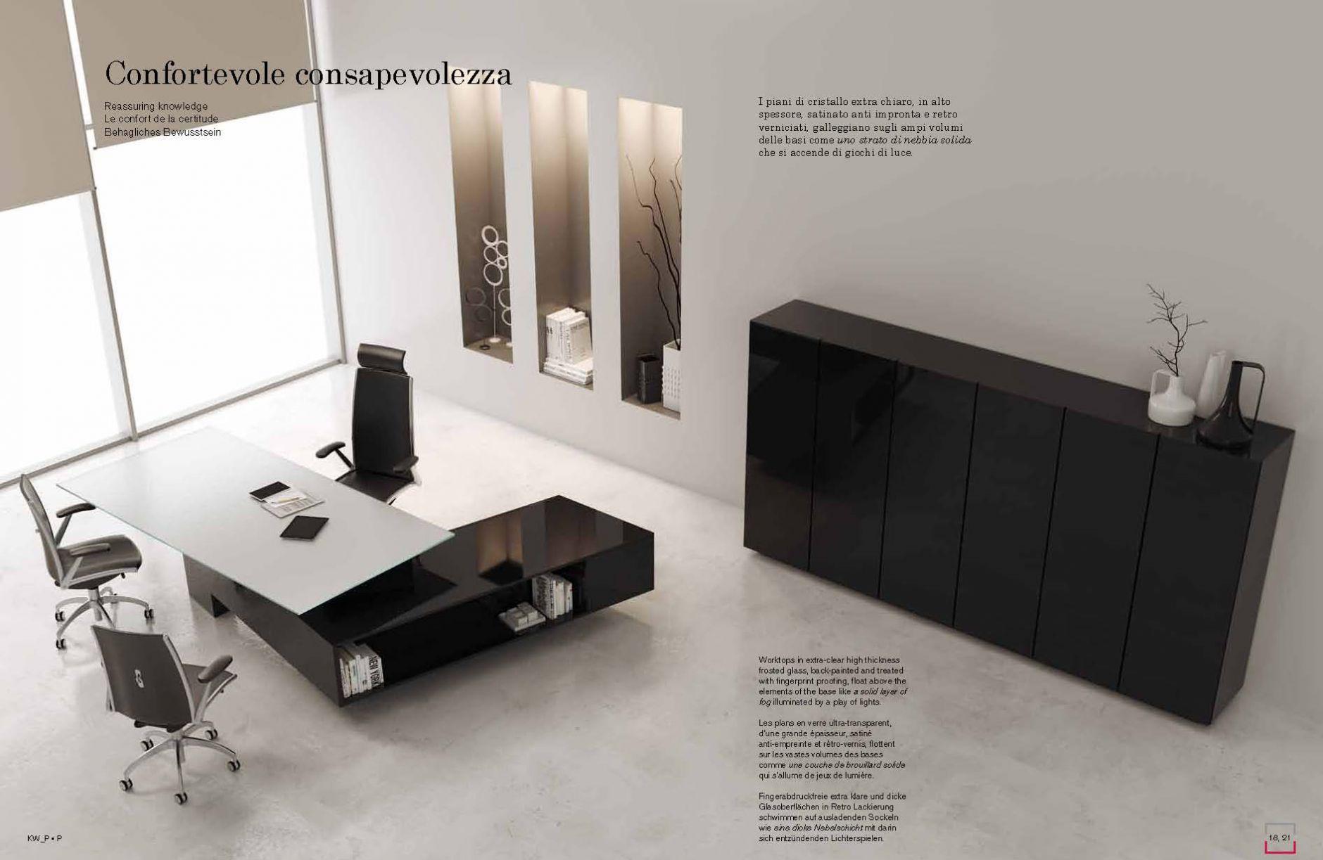m bel f r das b ro b ro schreibtisch serie cagni mastdie m bel aus italien. Black Bedroom Furniture Sets. Home Design Ideas