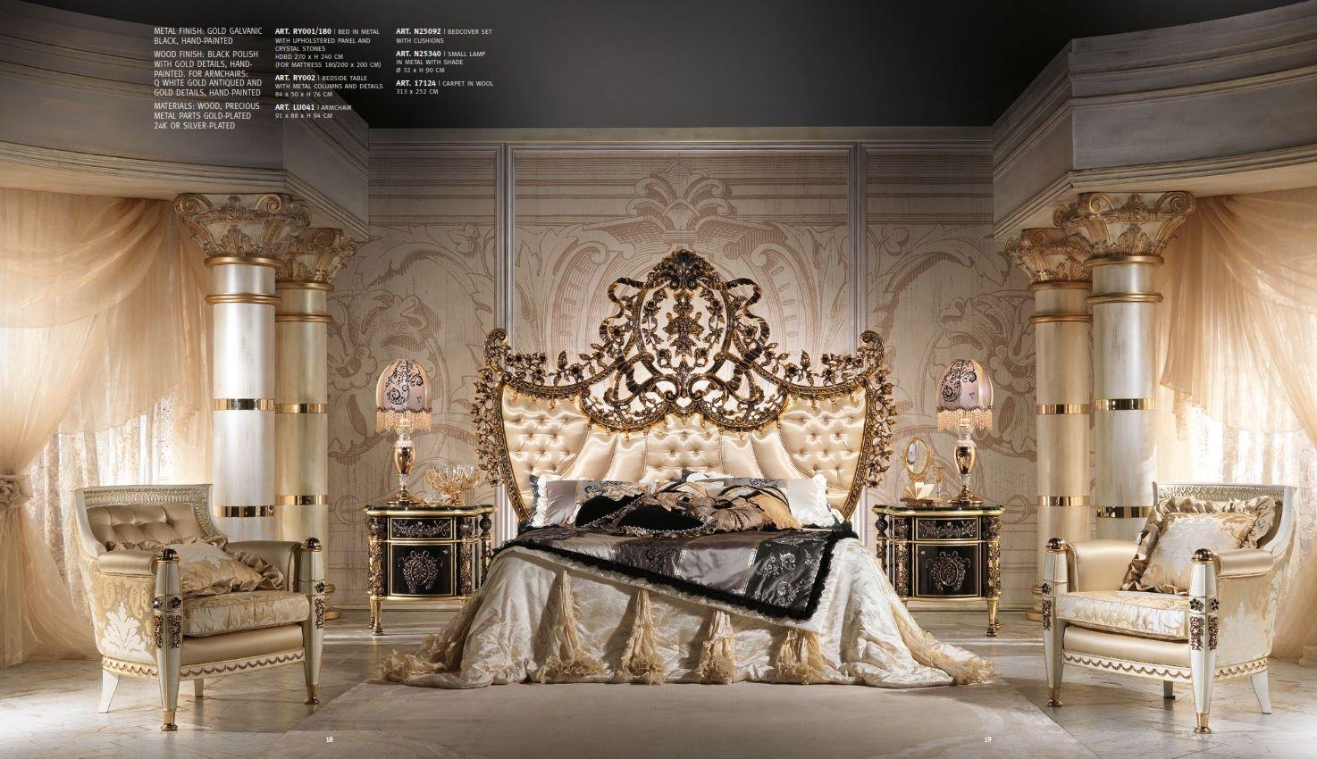 Luxus-Möbel - Luxus Schlafzimmer CAPPELLETTI ROYAL SerieDie ...
