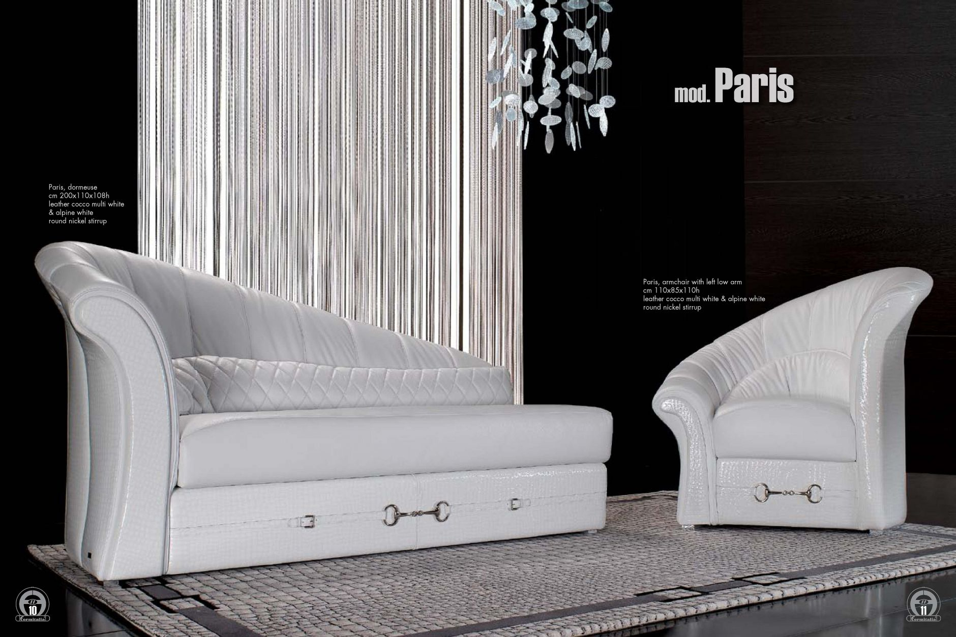 vip sofas polsterm bel modell parisdie m bel aus italien. Black Bedroom Furniture Sets. Home Design Ideas