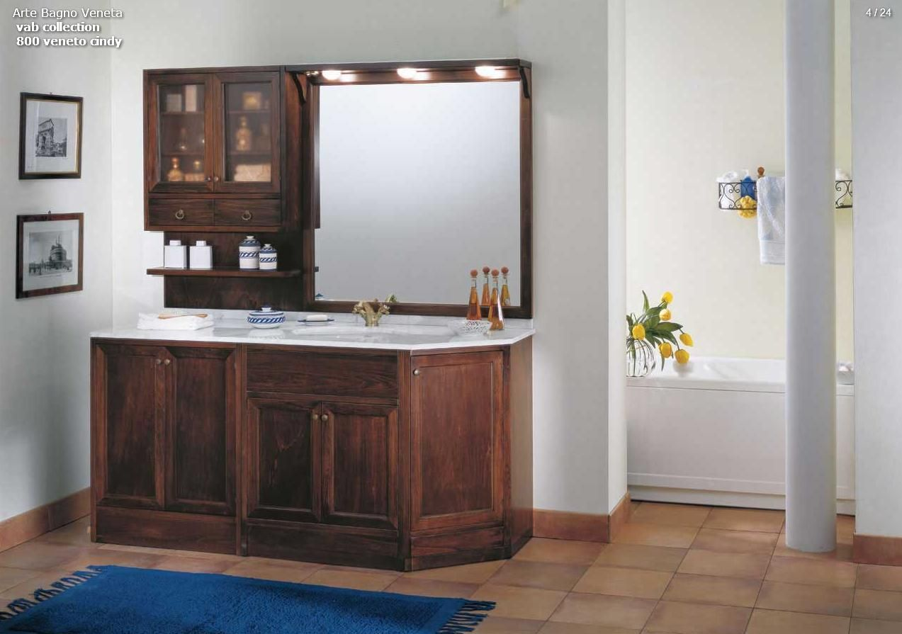 BATHROOM FURNITURE - Arte Bagno Series VAB Model 800 Veneto ...