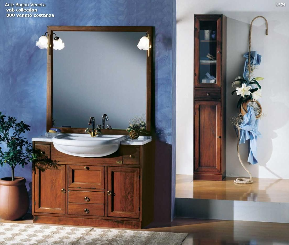 BATHROOM FURNITURE - Arte Bagno Series VAB Model 800 Veneto ...