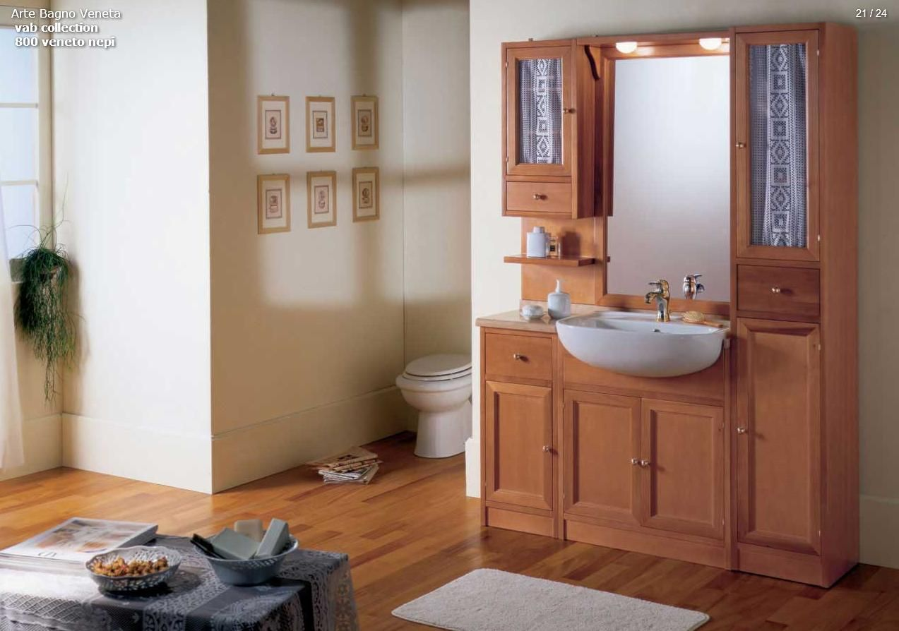 Cabine Bagno Complete : Bathroom furniture arte bagno series vab model 800 veneto