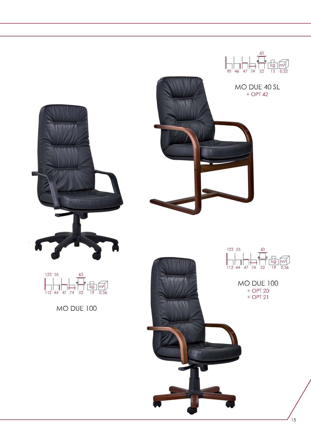 Bürostühle - Büro Stuhl Serie BookDie Möbel aus Italien