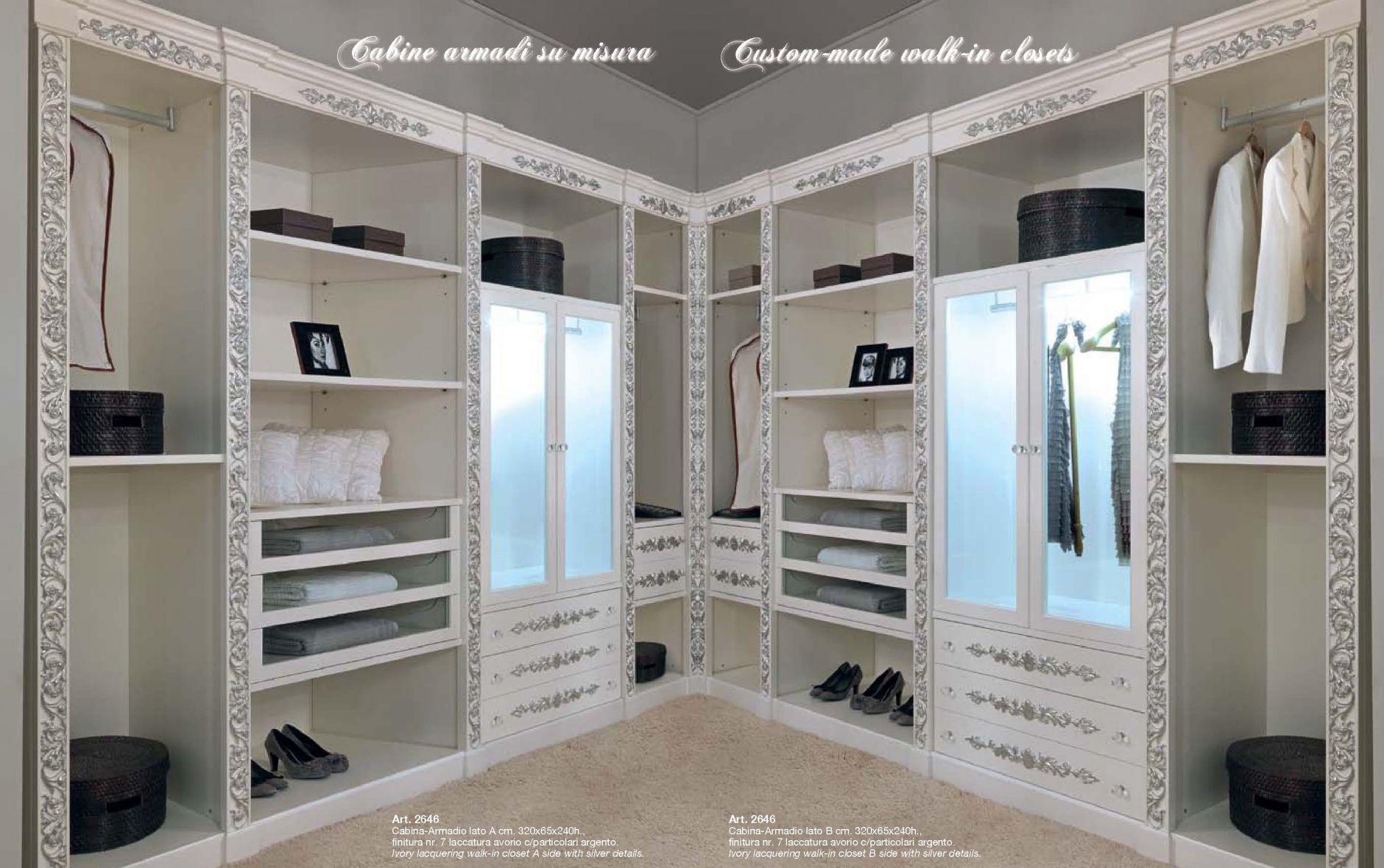 Muebles de lujo - Un lujoso armario ESTILO CEPPIMuebles de Italia