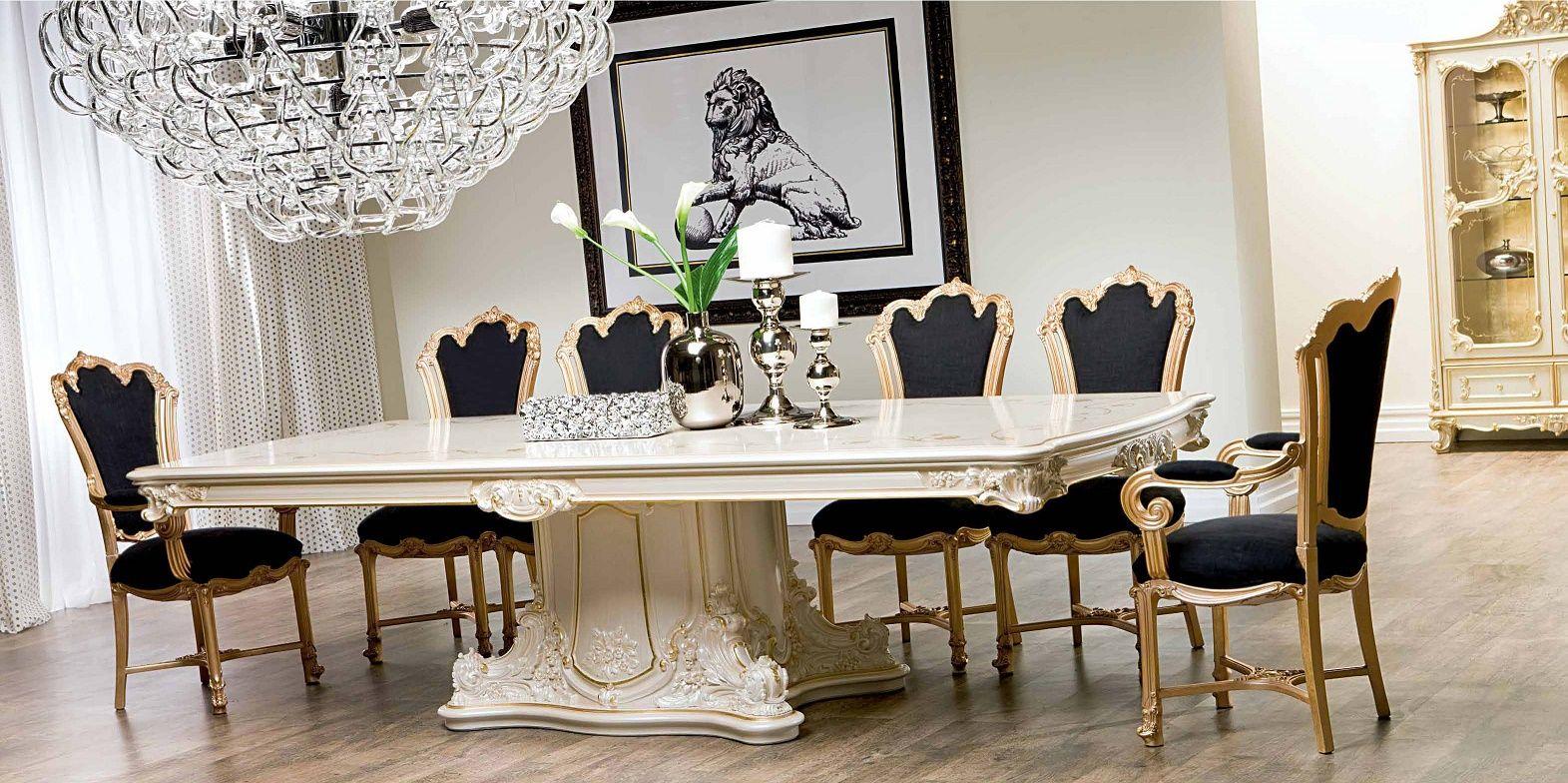 Meubles de luxe salle manger de luxe s rie silik for Table de salle a manger luxe