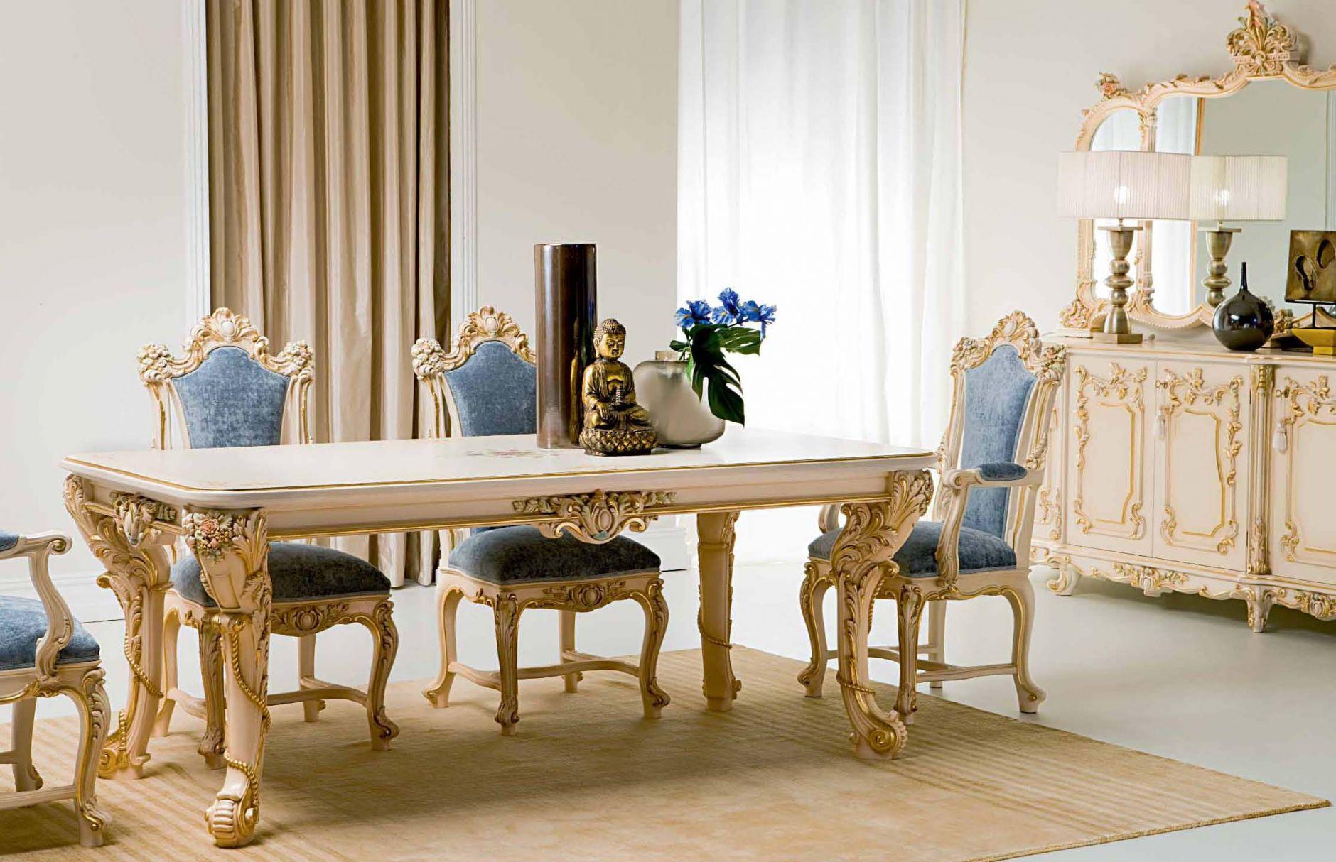 luxus-möbel - luxus esszimmer silik serie alexandradie möbel aus