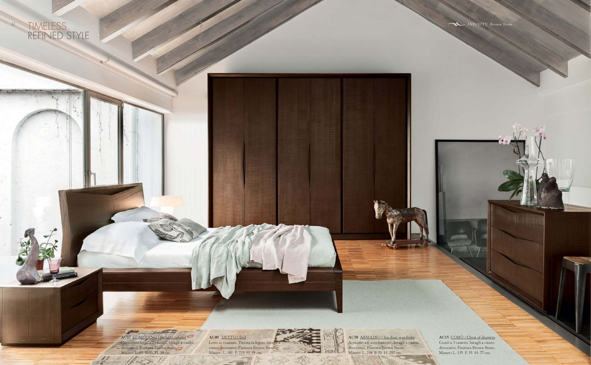 BEDROOMS - Bedroom Accademia del Mobile INFINITY SeriesFurniture ...
