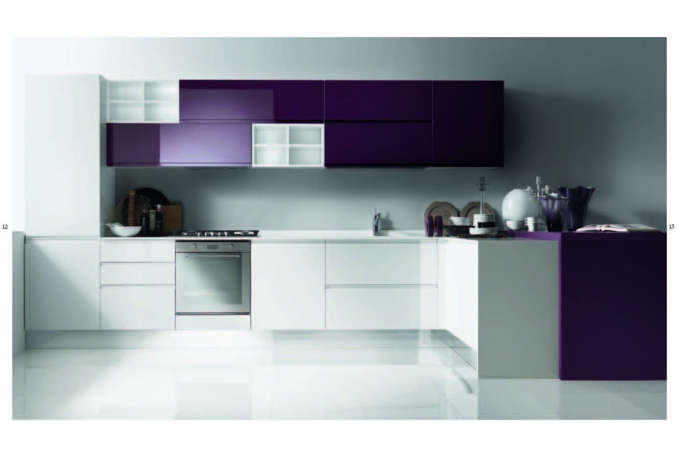 KITCHENS - Kitchen LINE IT 01 SeriesFurniture from Italy