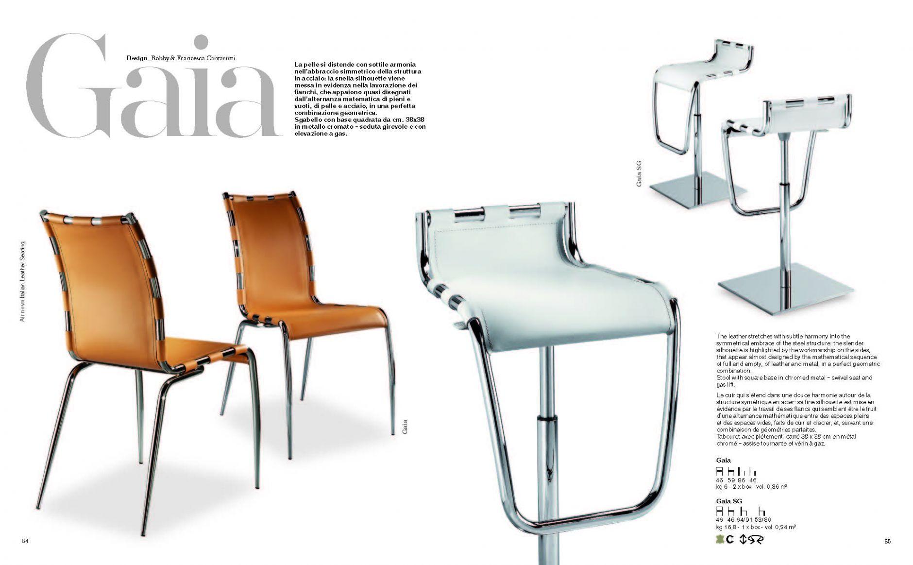 esszimmerst hle ledersessel gaiadie m bel aus italien. Black Bedroom Furniture Sets. Home Design Ideas