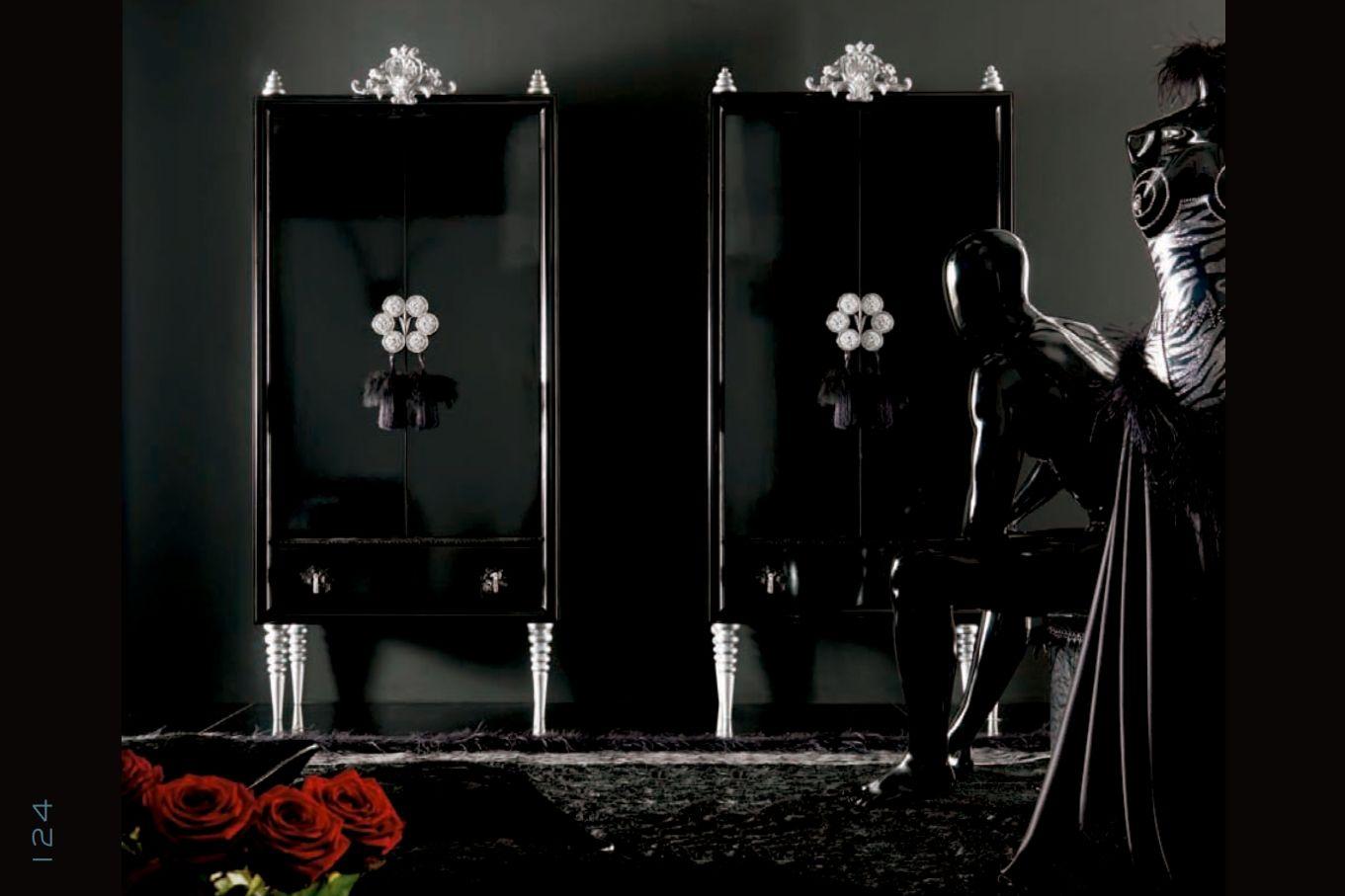 luxurioses runde schlafzimmer alta moda schicke serie