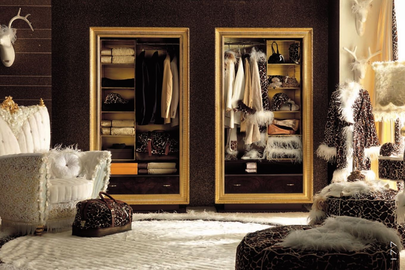 Luxurious Furniture Luxury Bedroom Alta Moda Chic