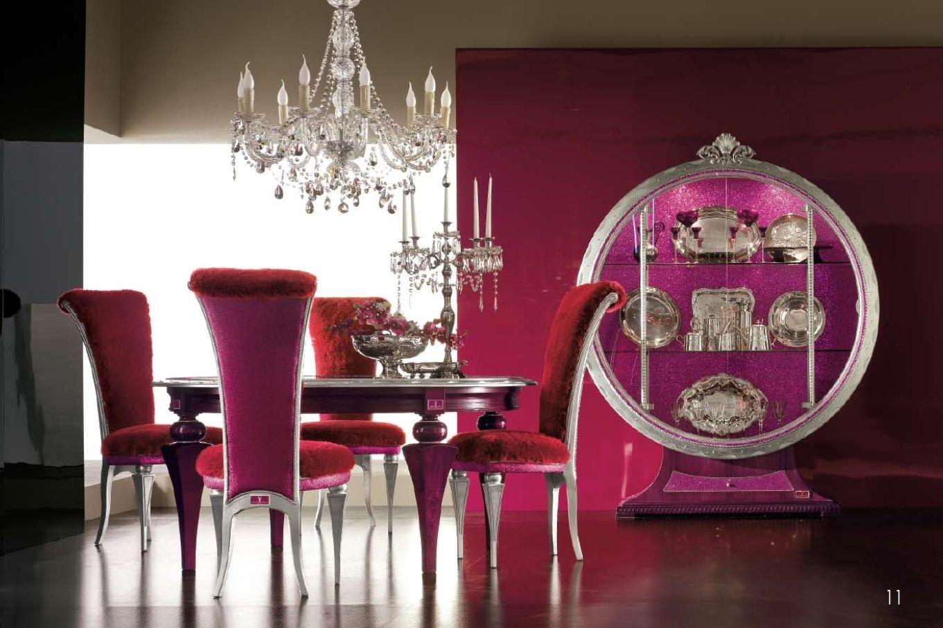 luxus-möbel - luxus esszimmer alta moda tiffany seriedie möbel aus