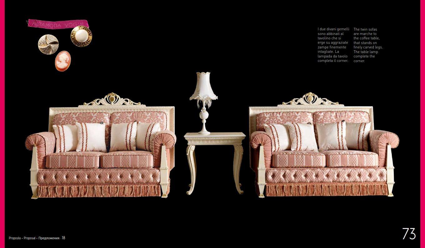Luxus-Möbel - Luxuriöse Sofas ALTAMODA ATELIER VOGUE ModellreiheDie ...