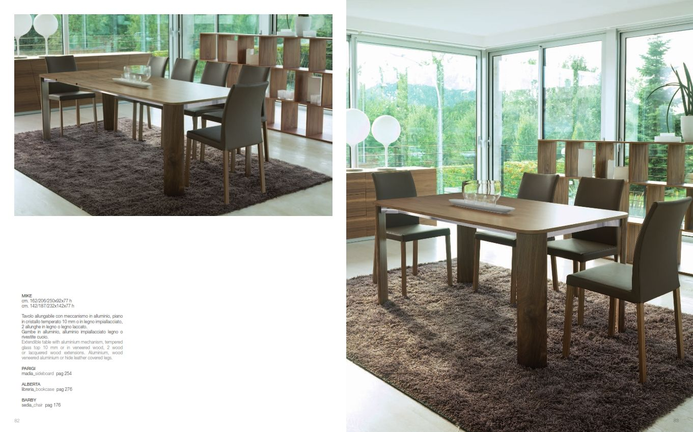 Meccanismo Tavolo Allungabile Legno.Dinning Rooms And Chairs Dining Table Antonelloitalia Mike