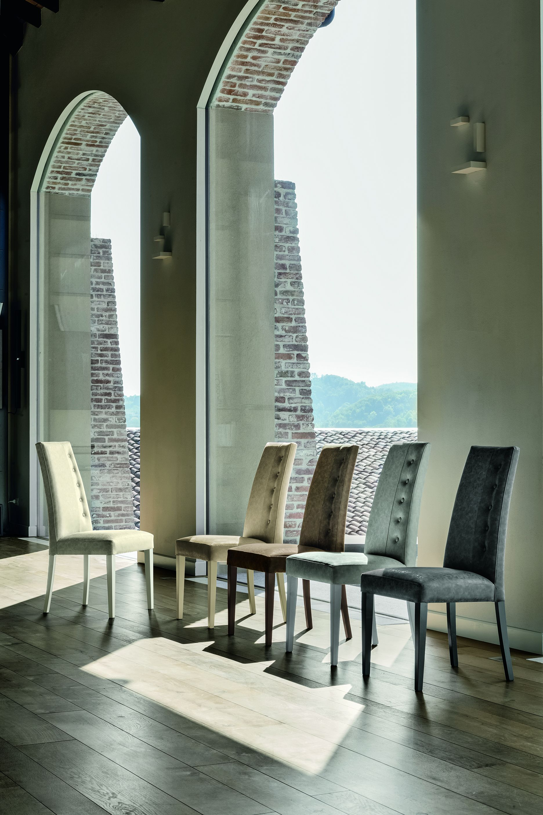 Dining room chair target point bellin series