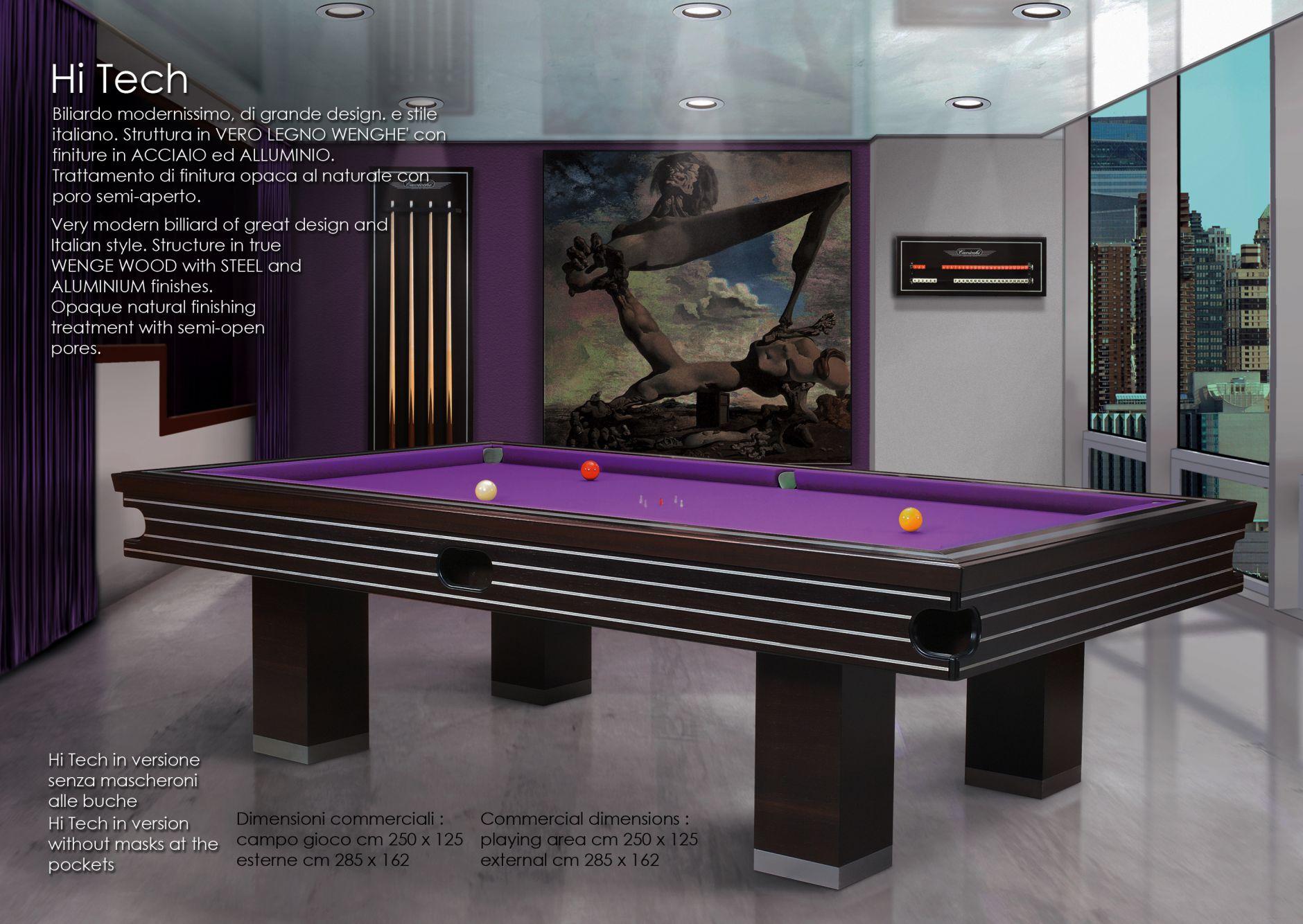 Billiards Tables Billiard Table Hi Tech Seriesfurniture