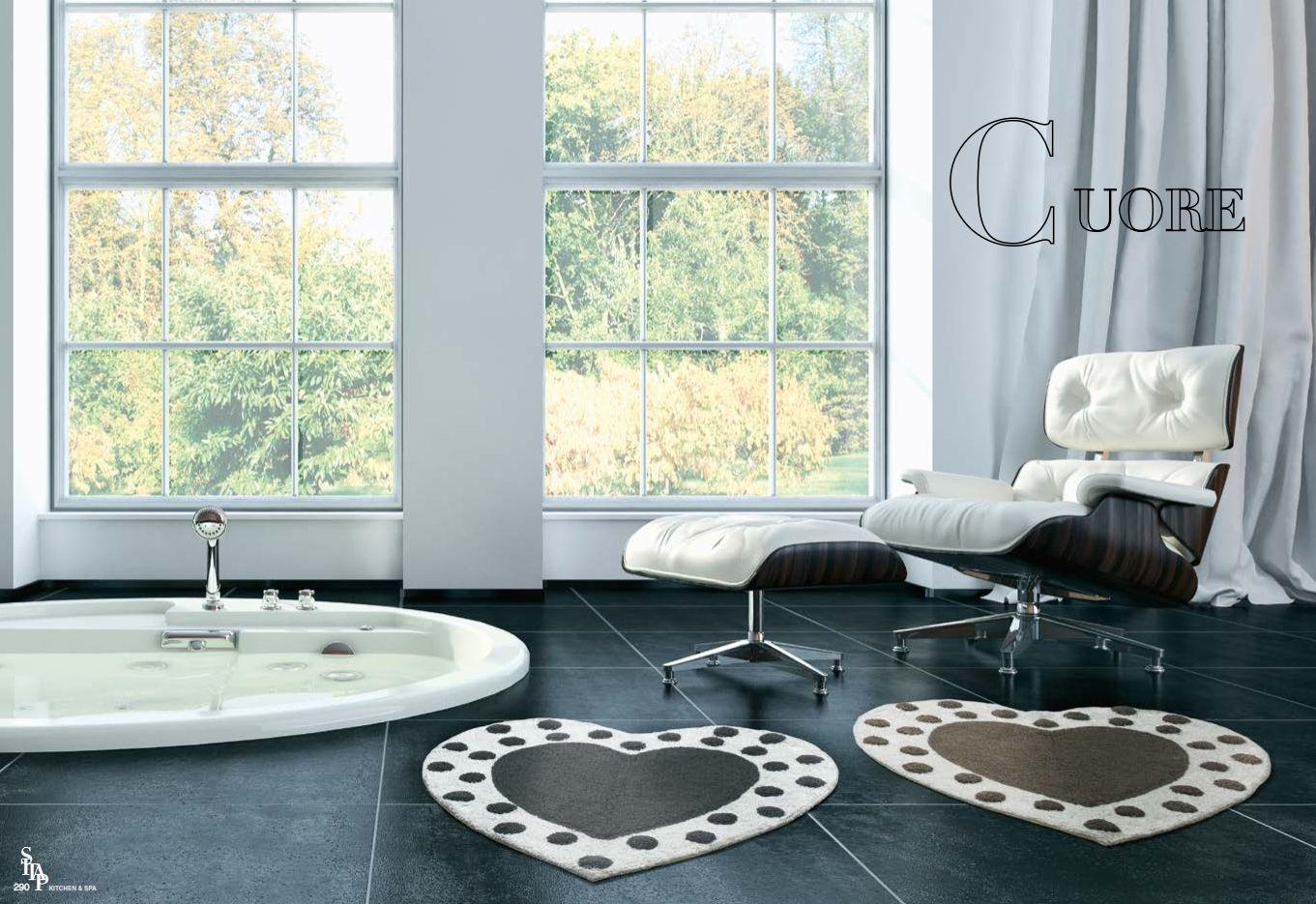 Teppiche italienische teppich sitap serie cuoredie m bel aus italien - Italienische designer wandspiegel ...