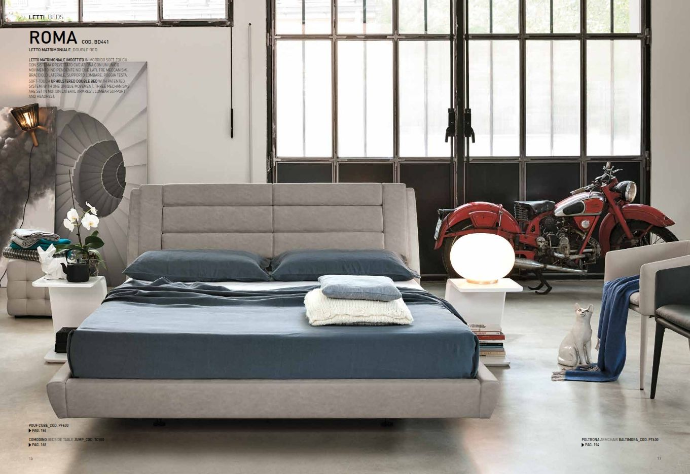 LEATHER BEDROOM - Leather Bedroom Target Point Roma SeriesFurniture ...