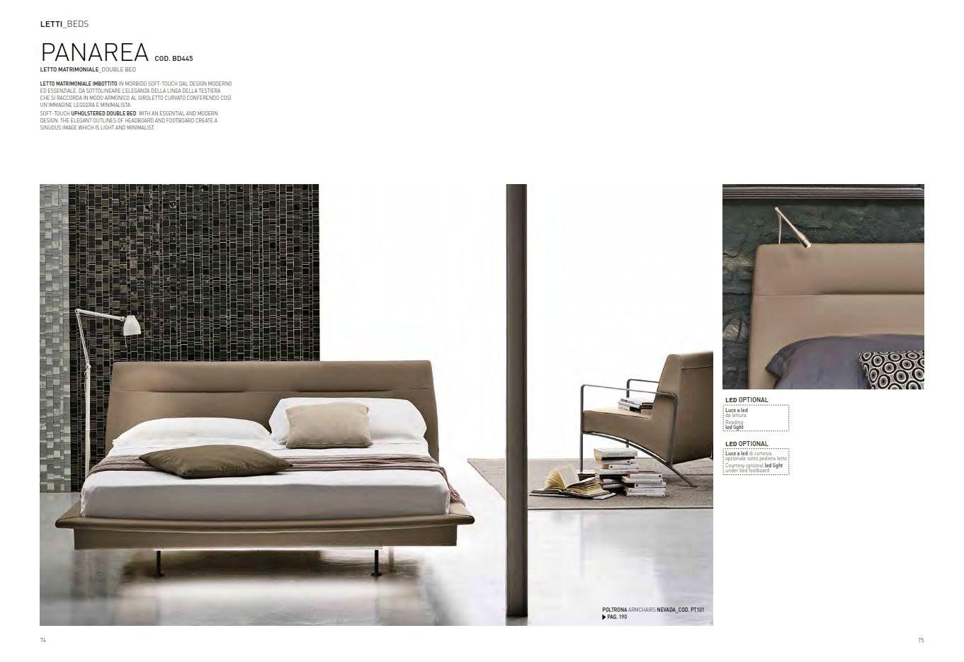 Leder-Schlafzimmer - Leder Schlafzimmer Target Point Serie ...