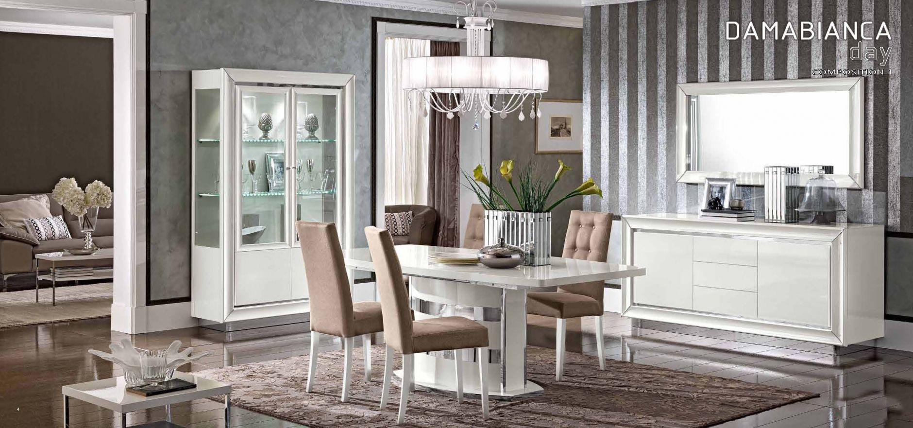 dinning rooms and chairs dining room camelgroup dama bianca dining room camelgroup dama bianca series composition 1