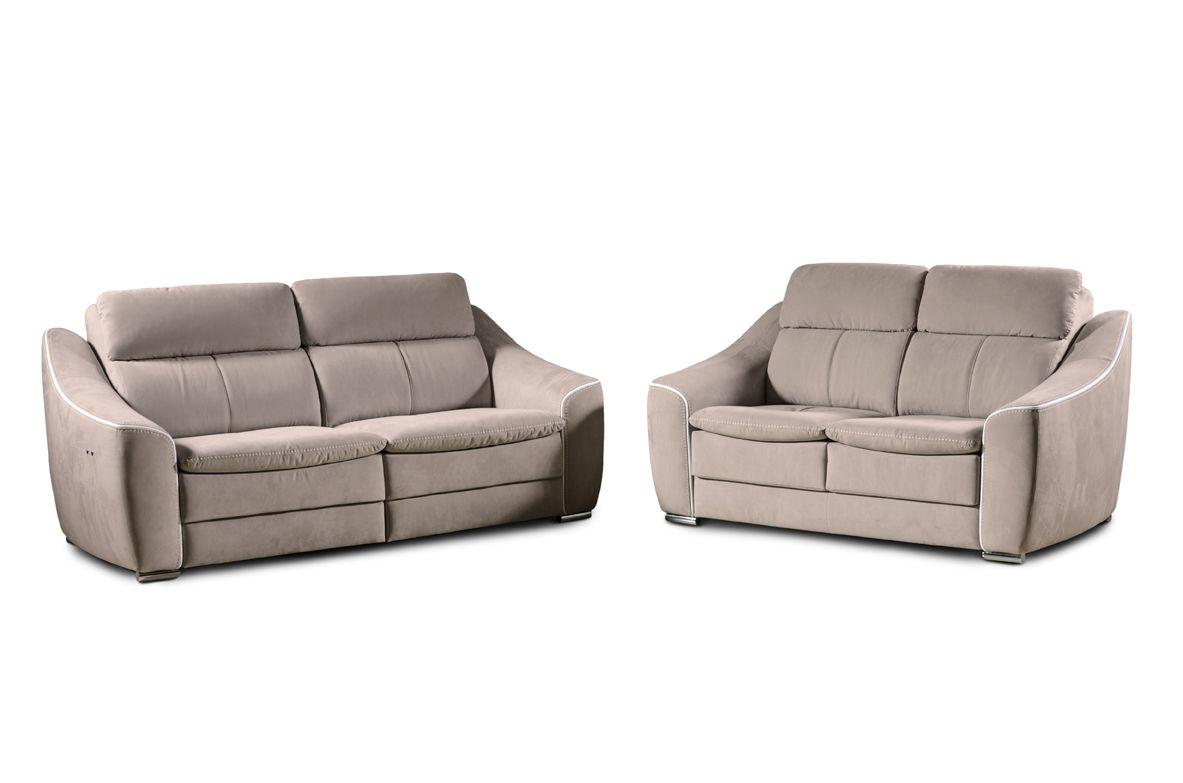 Sofa elektrisch cheap elektrische couch cool ledersofa for Schlafsofa elektrisch