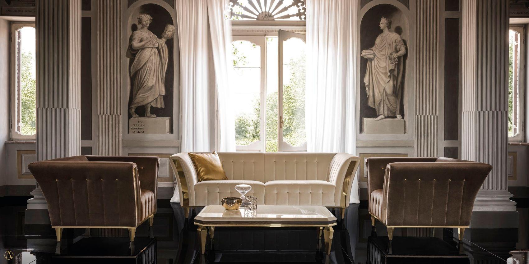 Klassische Möbel - Sofas ARREDOCLASSIC DIAMANTE-SerieDie Möbel aus ...