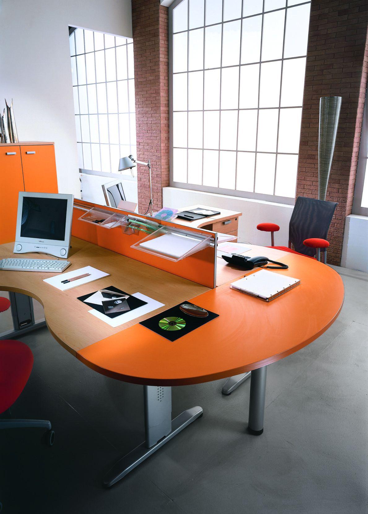 Workstation office furniture - Office Desk EIDOS 44 ...   eidos furniture