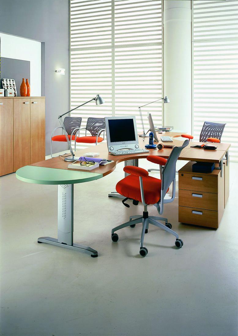 Workstation office furniture - Office Desk EIDOS 44B ...   eidos furniture