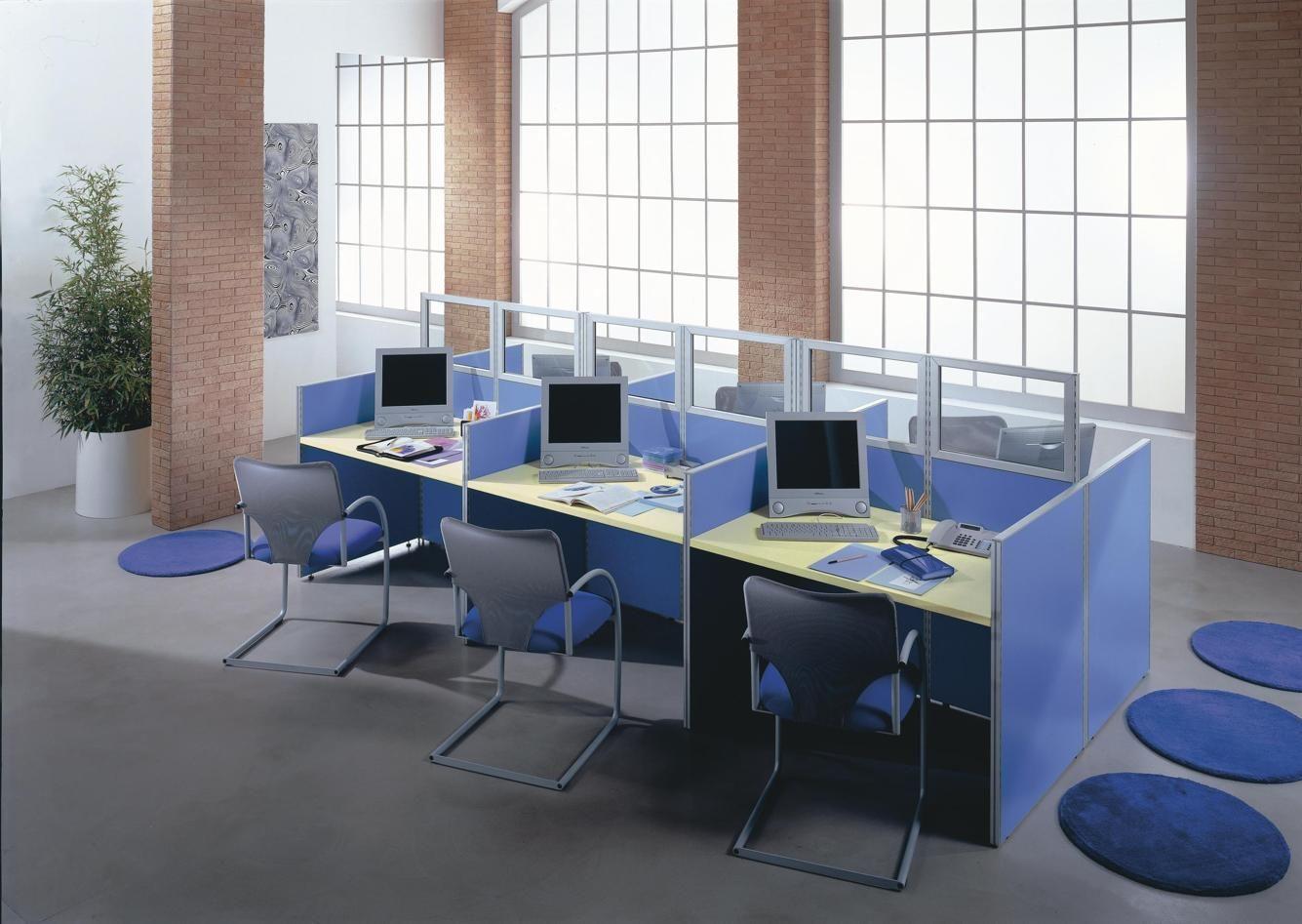 Workstation office furniture - Office Desk EIDOS 44-44 ...   eidos furniture