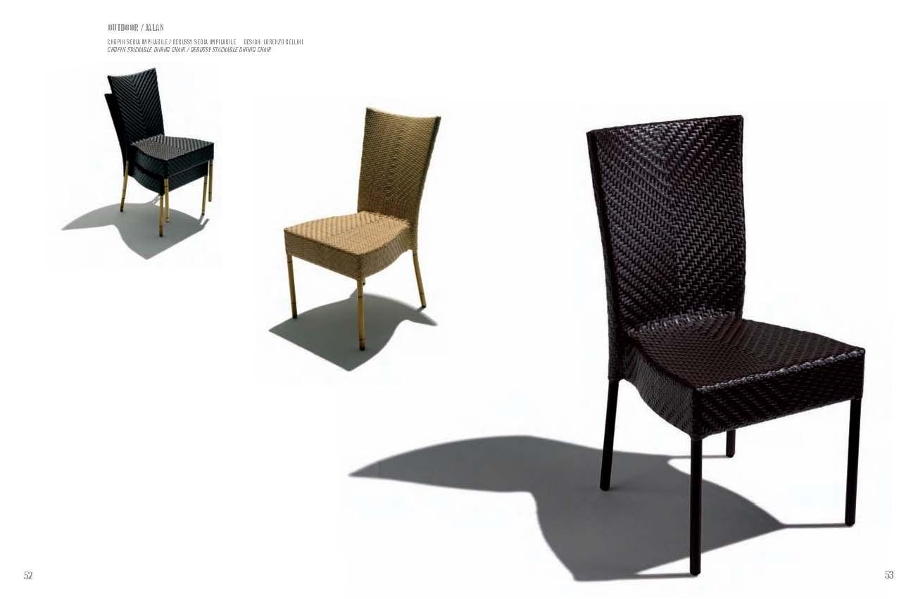 Chaises de jardin - Meubles de jardin de série FRANCHI DEBUSSYLes ...