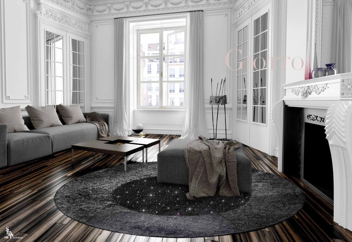 Teppiche Italienische Teppiche Sitap Serie Giotto Lurexdie Möbel
