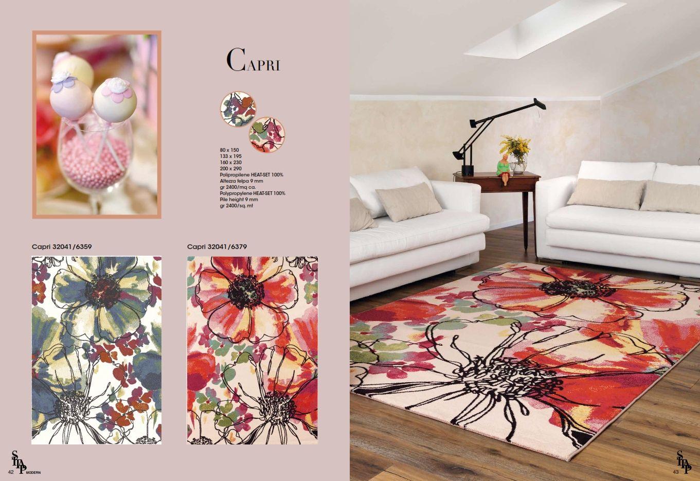 Teppiche italienische teppiche sitap serie capridie - Italienische designer wandspiegel ...
