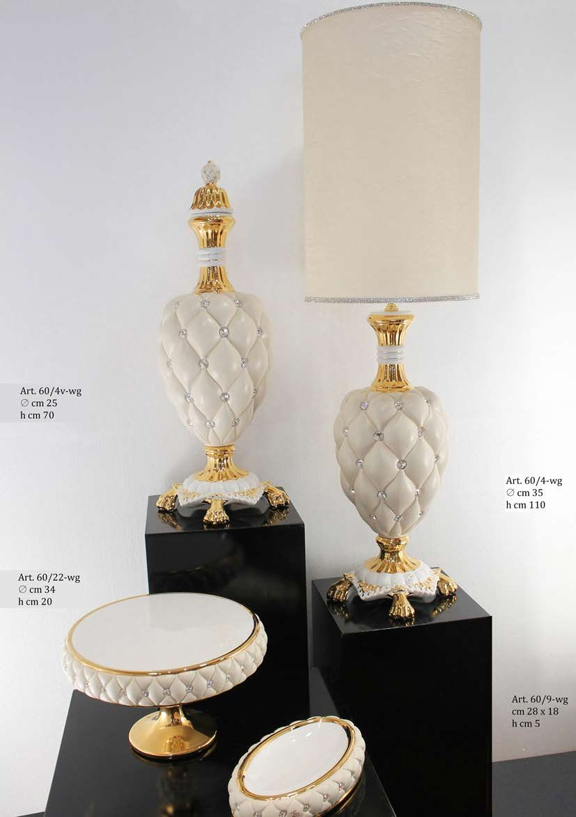 Lampes d coratives de salon trea ceramiche chesterfiled - Lampe decorative salon ...