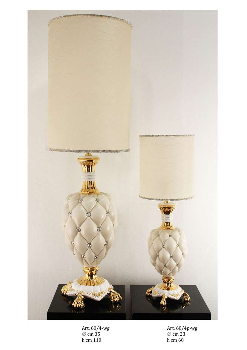 Decorative living lamps decorative lamp trea ceramiche - Ceramiche decorative ...