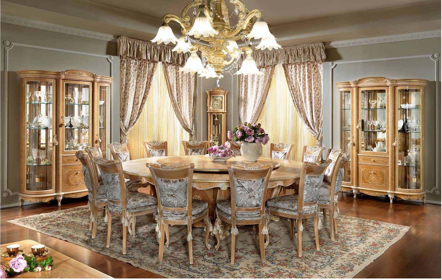Luxus-Möbel - PISTOLESI MANUEL Essen SerieDie Möbel aus Italien