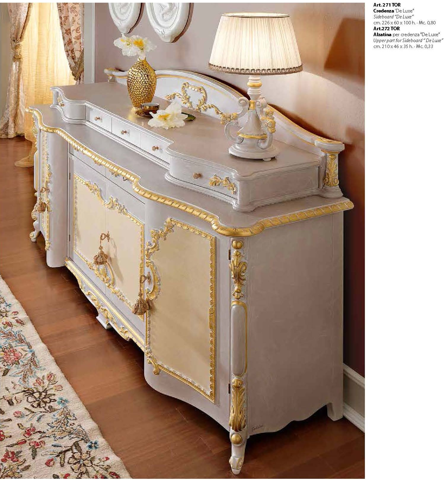 Muebles de lujo - Armario BARROCO PISTOLESI serie de lujo DE ...