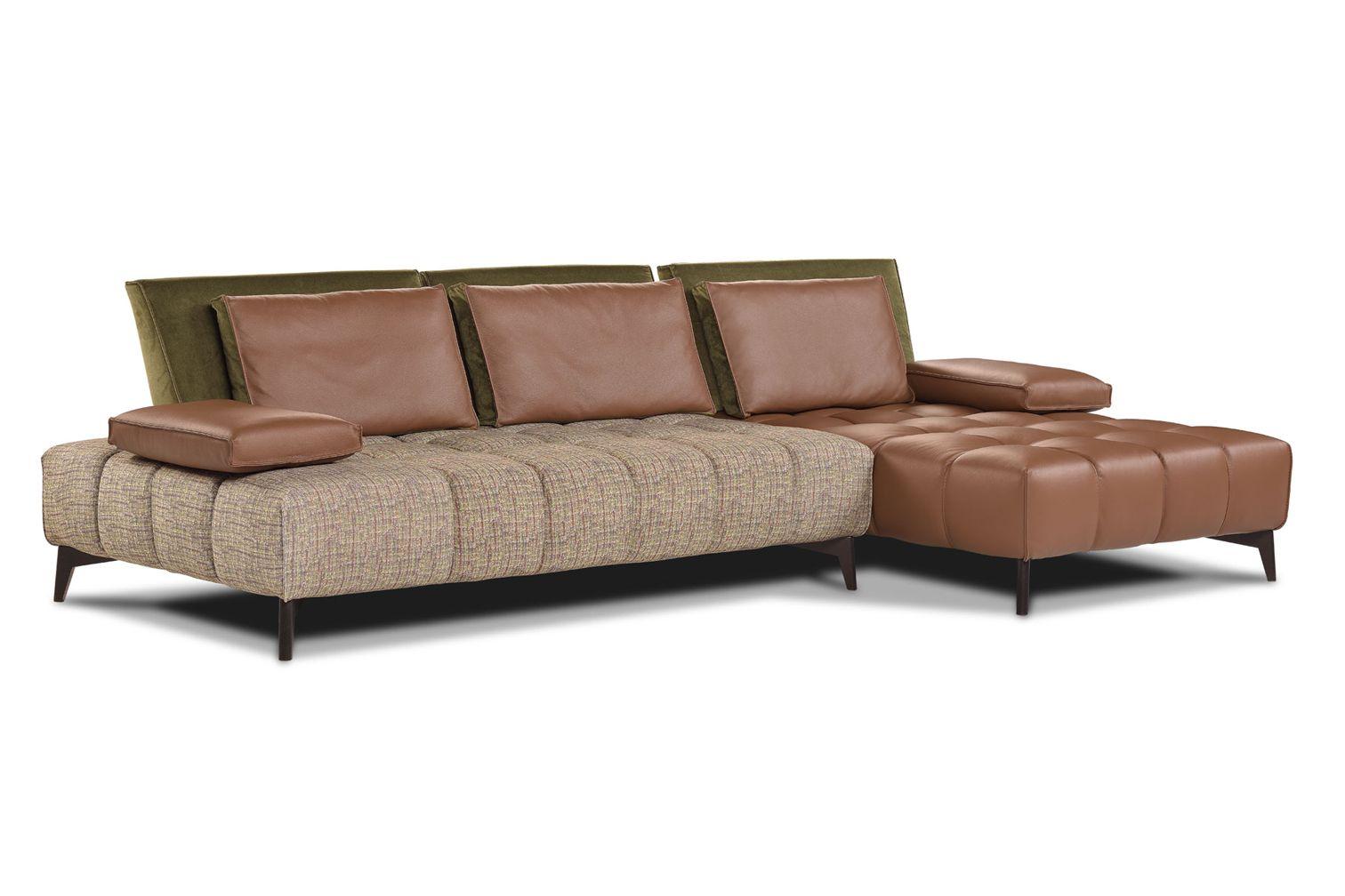 Sectional sofas sectional sofa calia italia rosemary 1086 1096 seriesfurniture from italy - Calia italia ...