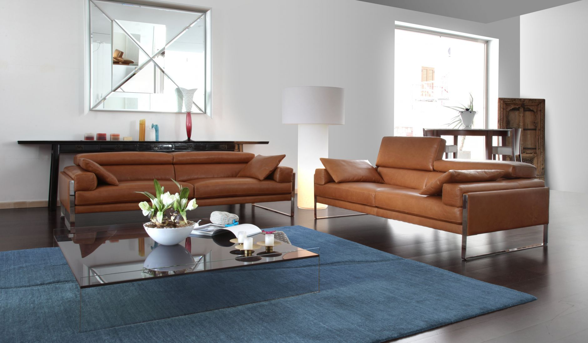 canap s italiens canap calia italia s rie romeo 808les. Black Bedroom Furniture Sets. Home Design Ideas