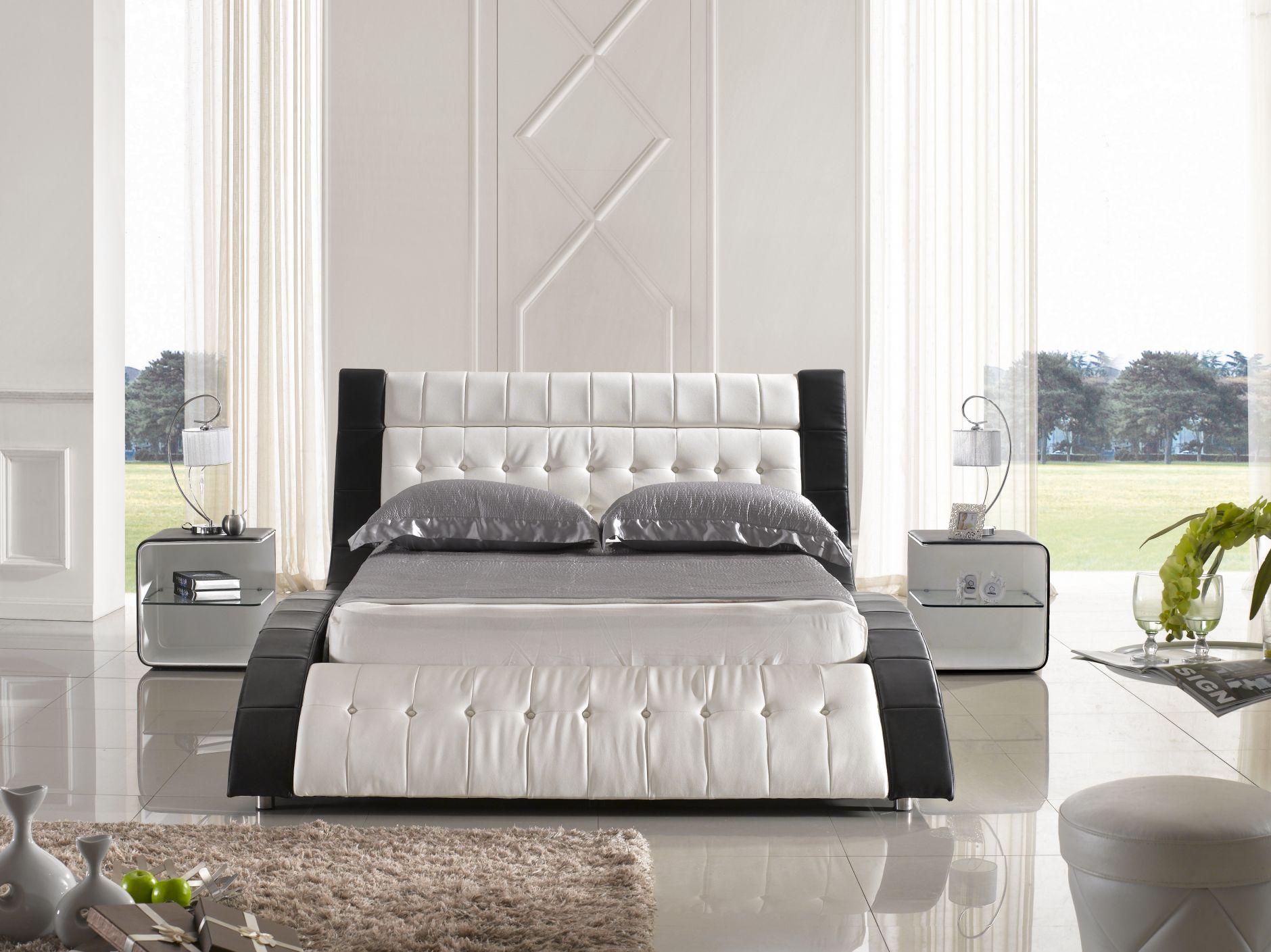 Chambre coucher en cuir chambre coucher de cuir for Chambre adulte complete turc
