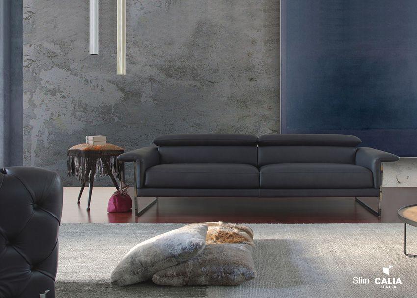 Polstermöbel - Sofa Calia Italia Serie SLIM 1015Die Möbel aus Italien