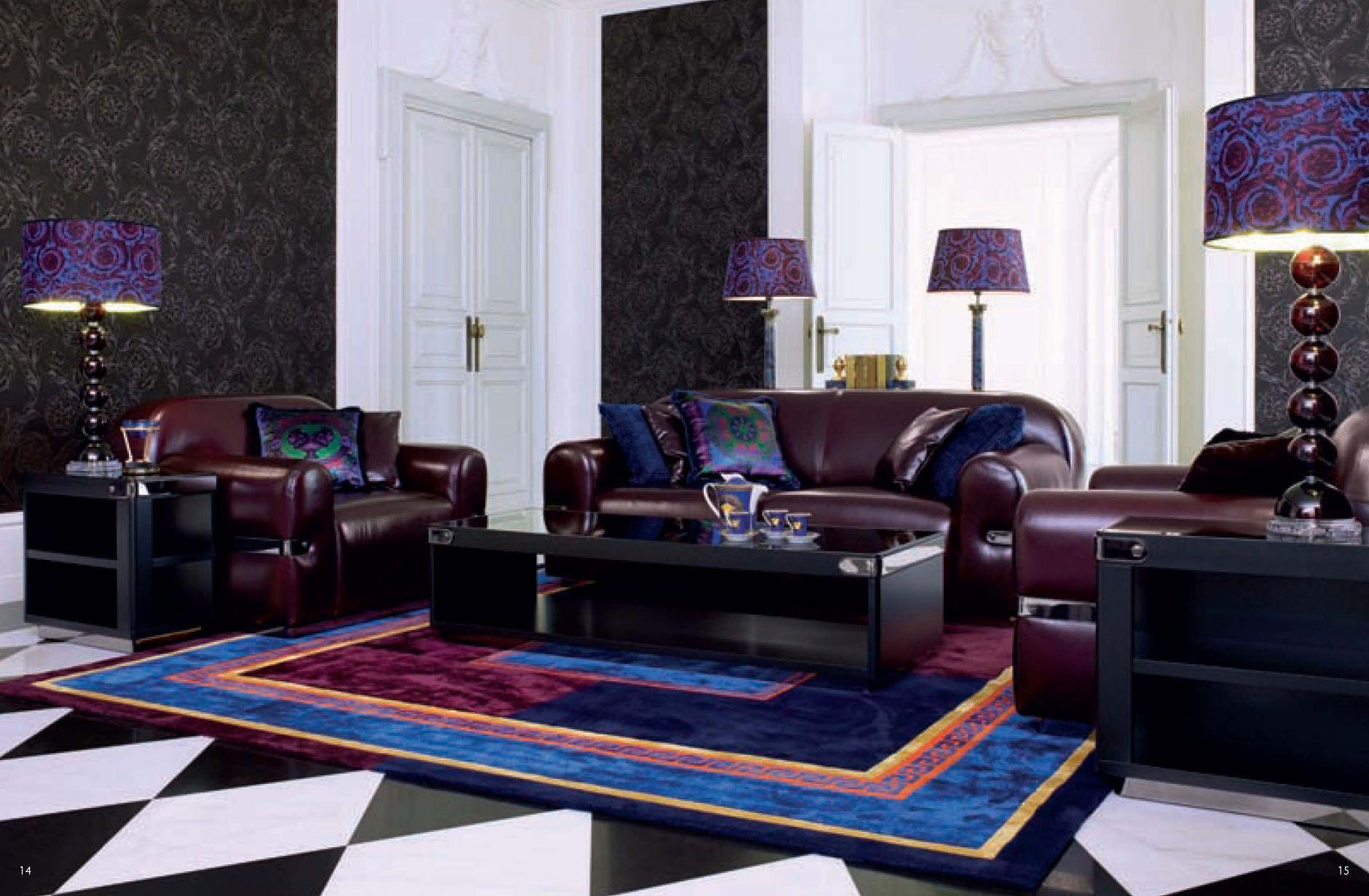 Versace Living Room Furniture Versace Design Living Room Sofa Set 5023 Ebay Versace Italian