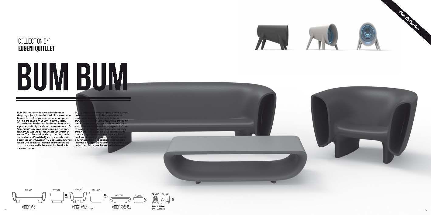 Gartenmöbel - Möbel für Bars Vondom BUM BUM-SerieDie Möbel aus Italien
