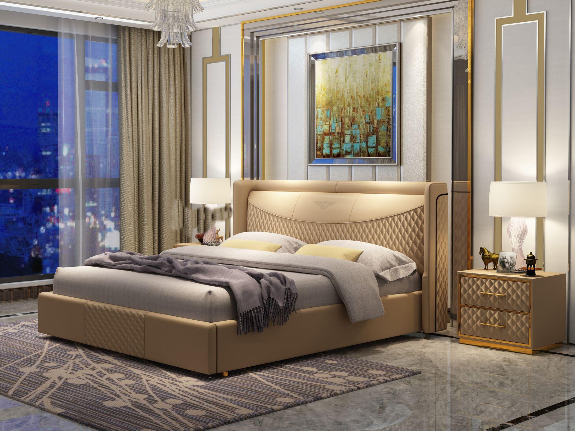 Chambres à coucher - Modèle de chambre À coucher Y008Les ...