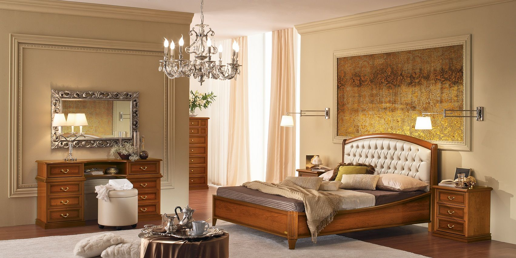 schlafzimmer schlafzimmer serie nostalgie nachtdie m bel aus italien. Black Bedroom Furniture Sets. Home Design Ideas