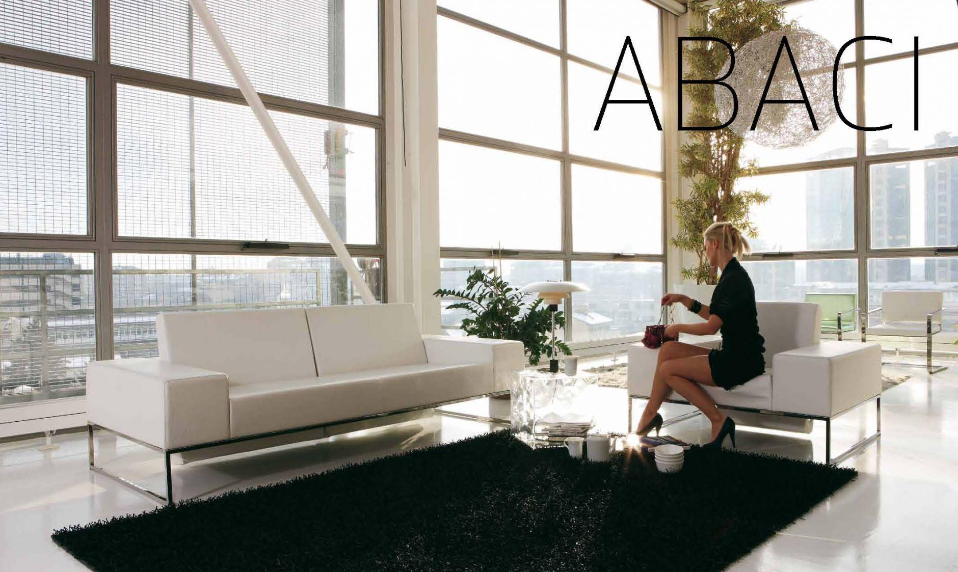 Polstermöbel - ALPA SALOTTI Sofa-Serie ABACIDie Möbel aus Italien