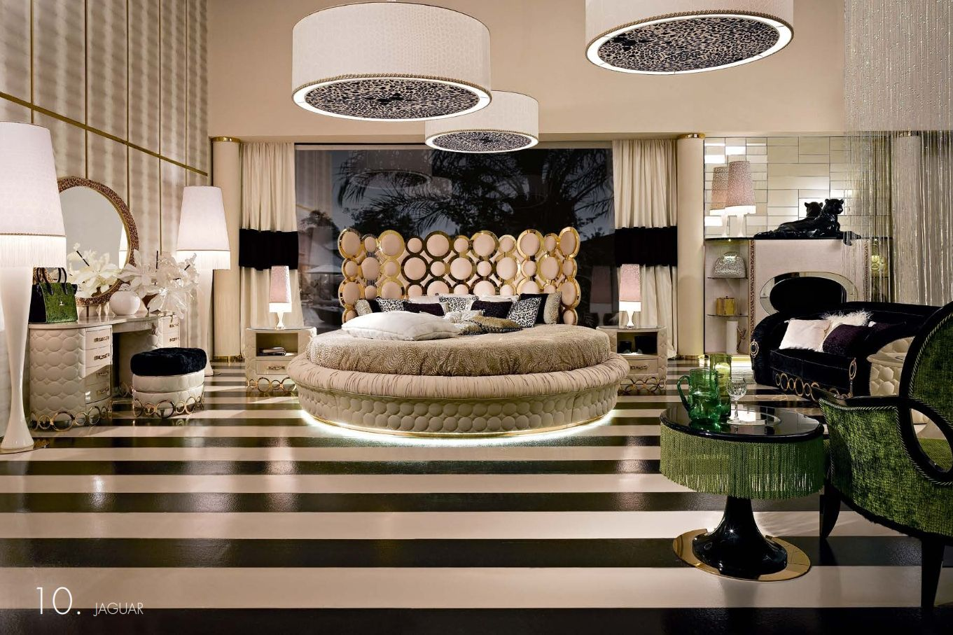 Luxurious Furniture Luxury Round Bedroom Alta Moda